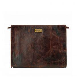 Work Bag Frasette in pelle marrone vintage