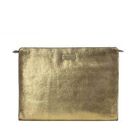 Work Bag Frasette in pelle oro