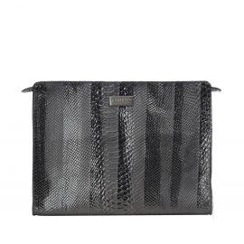 Work Bag Frasette in pelle nera